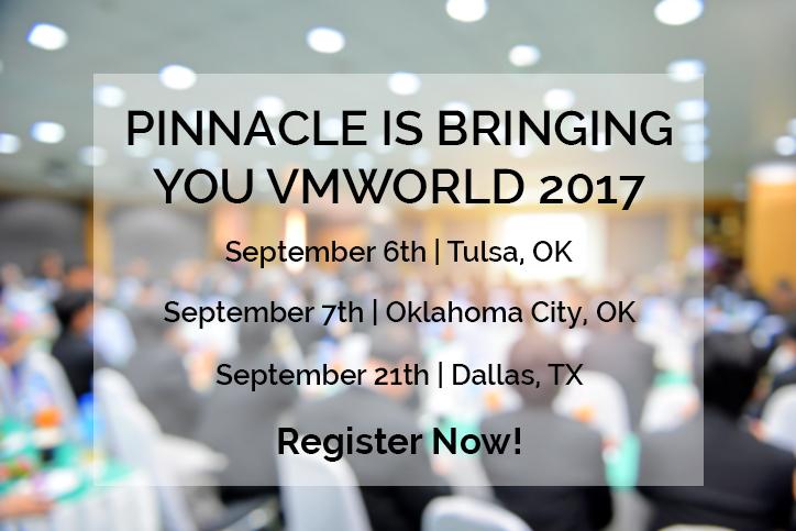 Pinnacle presents VMworld image