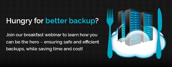 data backup and disaster recovery webinar