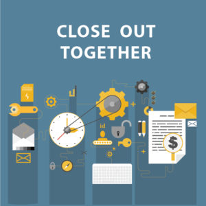 Brandy Semore's Successful Project Management Blog Series step 6, close out together