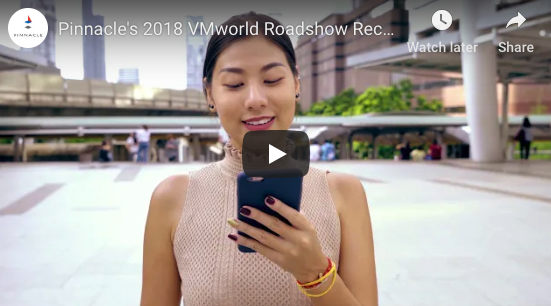 Pinnacle's VMworld 2018 Recap Video image