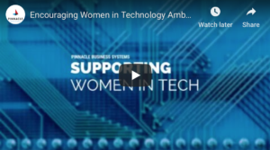 supporting women in tech video