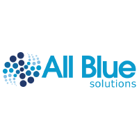all blue logo