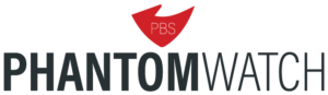 PBS PhantomWatch Logo Horizontal