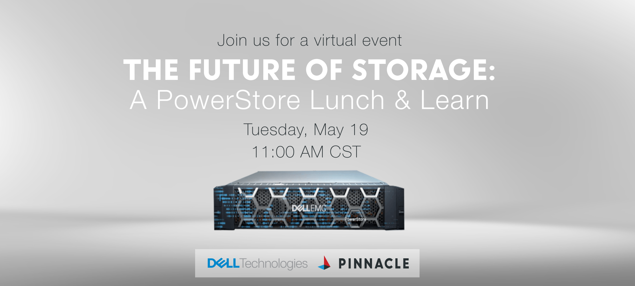 The Future of Storage: PowerStore Lunch & Learn