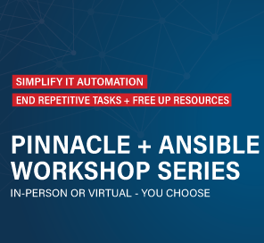 Red Hat IT Automation Workshops with Pinnacle