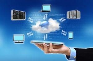 Technology Cloud Network