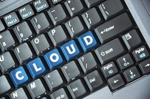 Computer Keyboard- CLOUD